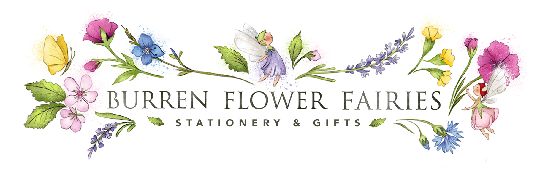 Burren Flower Fairies Logo